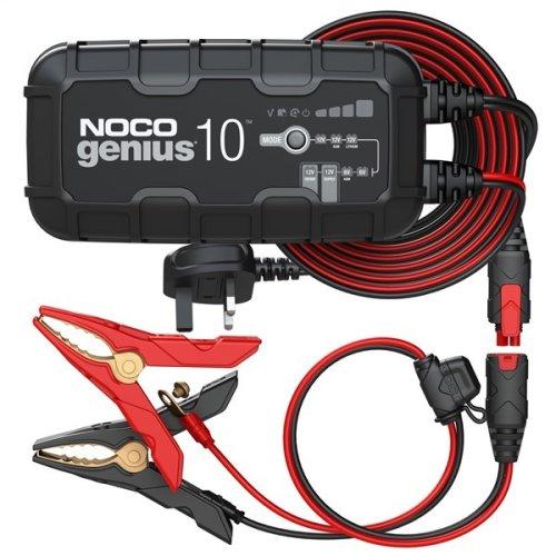 NOCO Smart Battery Charger - 6V & 12V - 10A [GENIUS10UK]