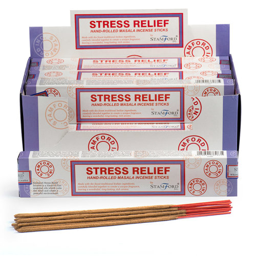 Stamford Masala Incense Sticks - Stress Relief - Set of 12