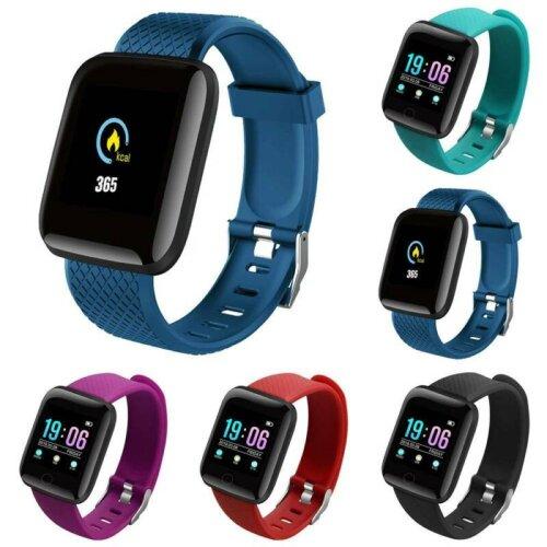 Smart Sports Watch Band Bracelet 116Plus Steps Recording Jogging Running Fitness