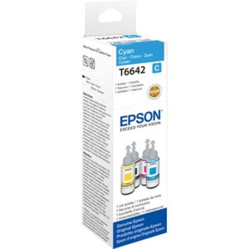 Epson T6642 Ink Refill Kit Cyan Inkjet 70 Ml C13T664240