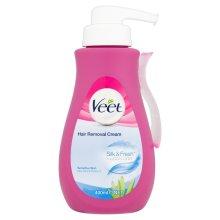 Veet Silk & Fresh Hair Removal Cream 400ml Sensitive Skin With Aloe Vera & Vitamin E
