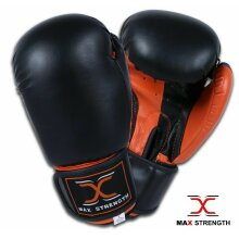 Boxing Gloves Sparring Punch Bag Kickboxing Punching Gym Training Mitt MMA Adult