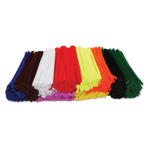 500 Pipe Cleaners 15cm x 4mm