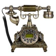 Retro Style Electronic Rotary Telephone   Retro Corded Telephone