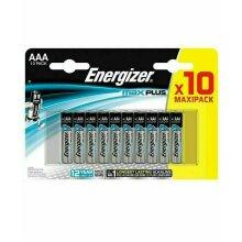 Energizer Max Plus AAA Advanced Alkaline Battery Pack of 10 Heavy Duty