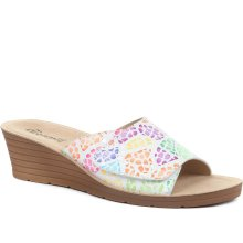 Fly Flot - Fully Adjustable Leather Mule Sandals
