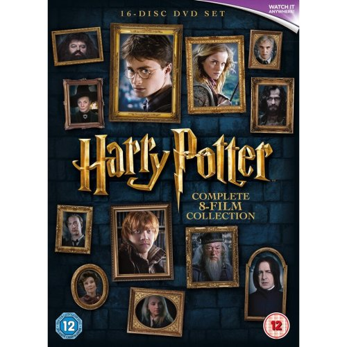 Harry Potter 8-Film Complete Collection 2016 DVD Boxset