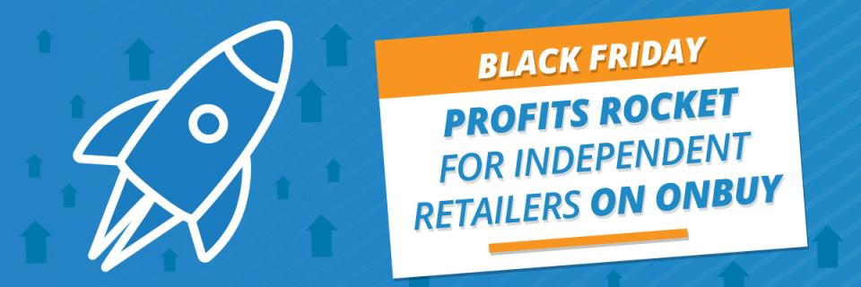 Black Friday profits rocket for independent retailers on OnBuy