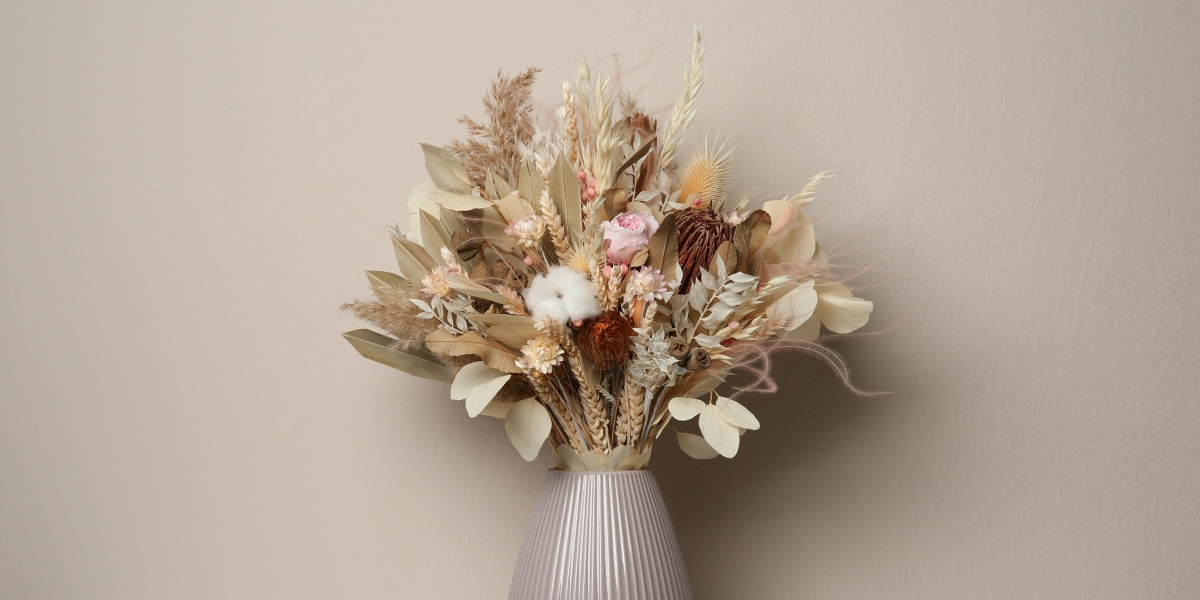 The essentials: Crafting a dried flower bouquet