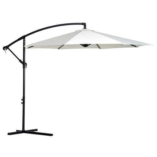 Outsunny 3M Hanging Banana Parasol Cantilever Outdoor Sun Umbrella Canopy Shade