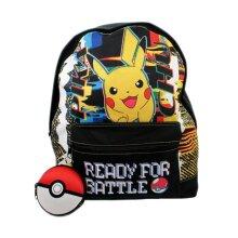 Pokemon Pikachu Ready For Battle Backpack