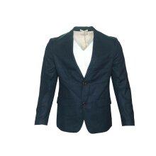 Farah Men's Hopsack Blazer Suit Navy - Regular Fit