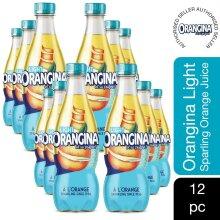 Orangina Light Orange Juice Drink 420ml, 12 Pk