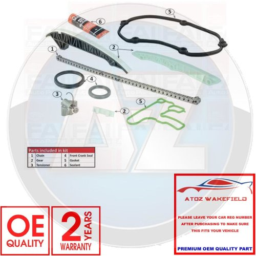 for AUDI A4 A5 A6 Q5 SEAT EXEO 1.8 2.0 TFSi ENGINE TIMING CHAIN GASKET KIT SET