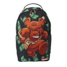 Sprayground Diablo Bear On The Run Backpack