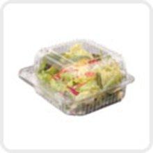 Dart Clear Seal Plastic Hinged Salad Takeaway Bowl 750cc - 1x250