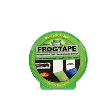 Frog Tape Green Multi Surface Painters Masking Tape, Indoor Painting and Decorating For Sharp Lines and No Paint Bleed 24mm X 41.1m