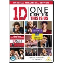 One Direction - This Is Us DVD [2013] - Used