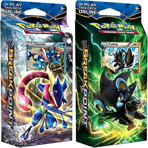 Pokemon XY XY9 Breakpoint Decks Greninja and Luxray Theme Cards pack of 120