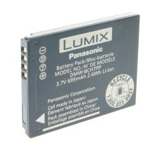 Genuine Original Panasonic DMW-BCH7E DMW-BCH7PP Battery for Lumix DMC-FT10 TS10 DMC-FP3 FP1 FP-2