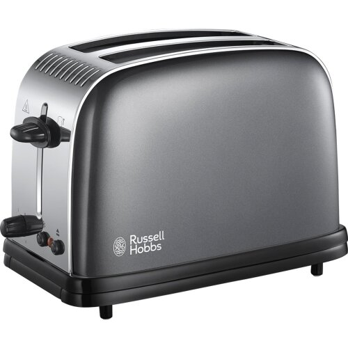 Russell Hobbs Colours Plus 23332 2 Slice Toaster - Grey