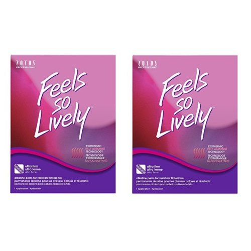 (Zotos Feels So Lively Regular Perm - pack of 2) Zotos Feels So Lively Regular Perm