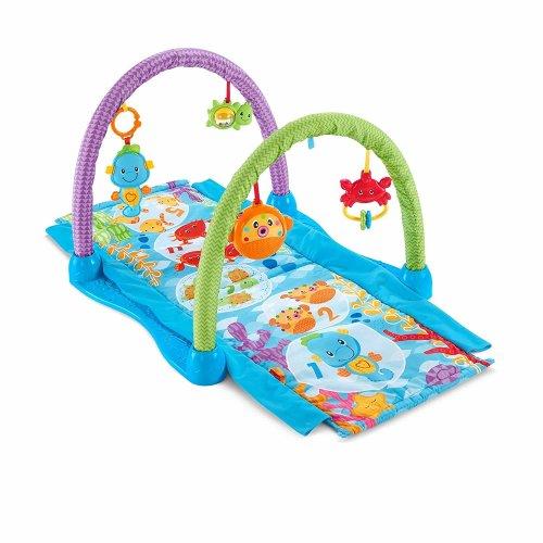 Fisher-Price Kick 'n Crawl Musical Seahorse Gym