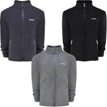 Lambretta Mens Full Zip Polar Fleece Winter Outdoor Jacket
