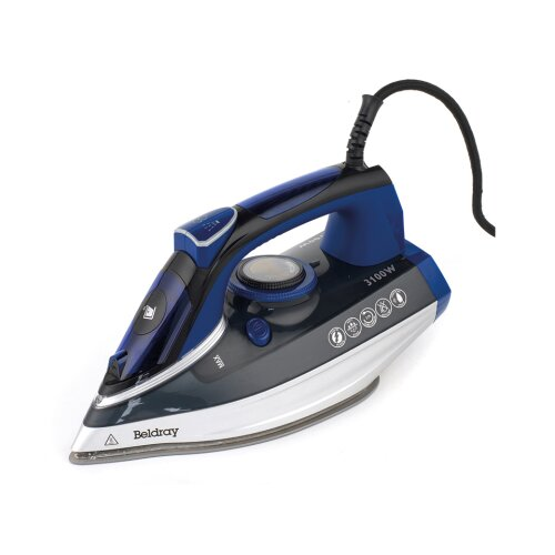 Beldray Steam Iron 3100W Ceramic Soleplate BEL0820