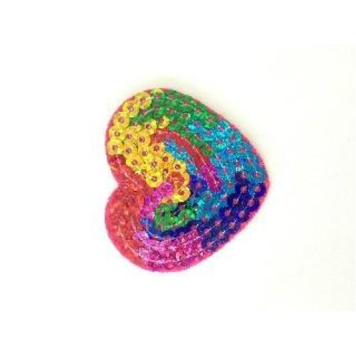 Sequin Iron On Patches