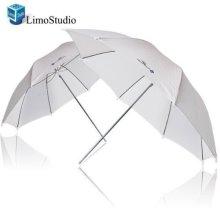 LimoStudio 2x 33 Studio Lighting Umbrellas Translucent White soft Umbrella AGG124 A