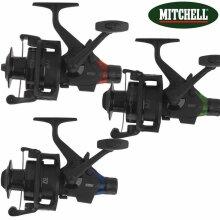 3X Mitchell Avocast 6500FS Freespool RTE Black Edition Bite Alarm Reel