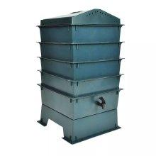 vidaXL Eco-friendly 4-Tray Worm Factory Composter Waste Bin System Gardening