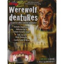 Werewolf Fangs Dentures Teeth | Halloween