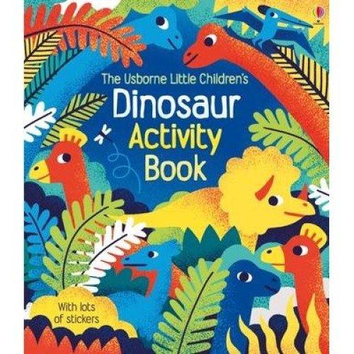 Little Children's Dinosaur Activity Book