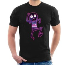 Rick and Morty In Purple Space Men's T-Shirt