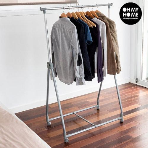Portable Folding Clothing Rack