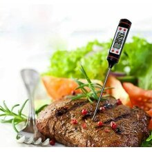 Digital Meat Thermometer Food Milk Oil Water Kitchen Cooking BBQ