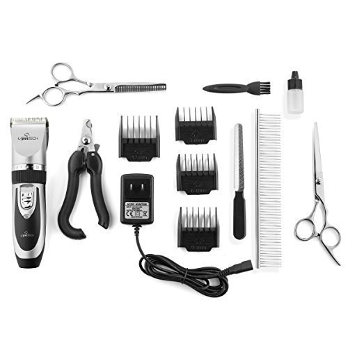 Dog Pet Clipper Kit Battery Everything You Need in One Kit Home or Professional