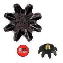 SoftSpikes Black Widow Golf Spikes Cleats 6mm Small Metal Thread