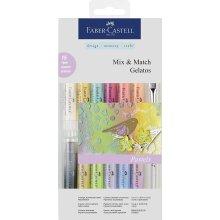 Faber-Castell Gelatos Pastel (Pack of 15)