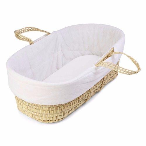 Quilted Moses Basket Liner   Baby Basket Liner