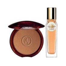 NEW Guerlain Terracotta Sun Duo - Bronzer & Perfume Set