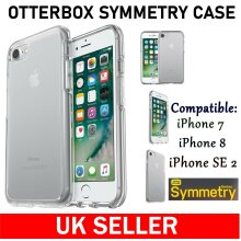 Otterbox Symmetry Clear Protective Case Cover For Apple iPhone SE 2 (2020) / iPhone 7 / iPhone 8 New