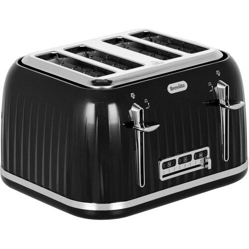 Breville Impressions Collection VTT476 4 Slice Toaster - Black