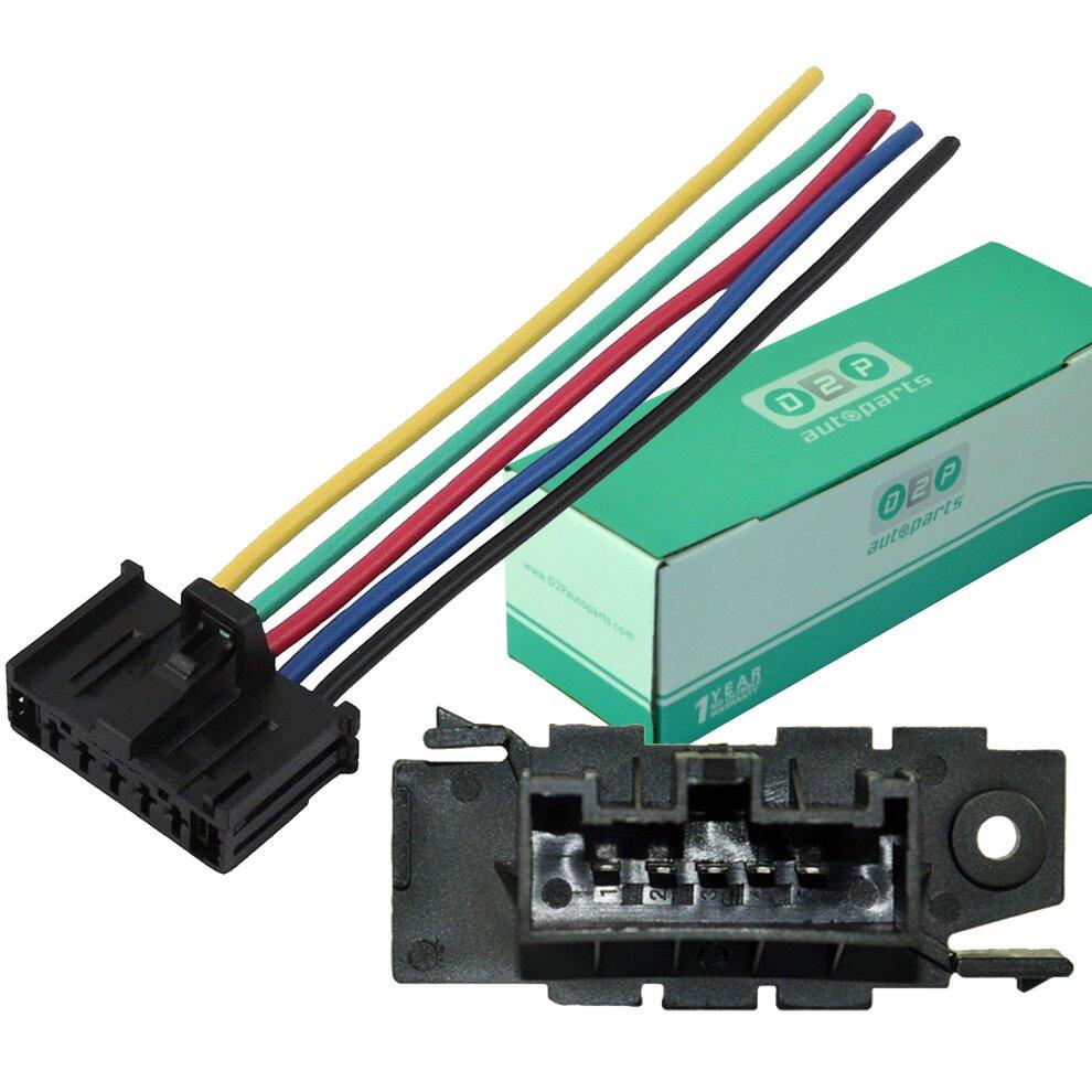 For Vauxhall Opel Corsa D Heater Resistor Wiring Loom Harness Repair Plug Kit On Onbuy