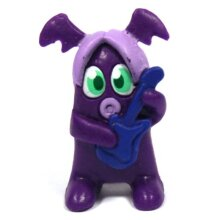 Moshi Monsters Series 3 - Frettie Facemelt 02 Moshling Figure