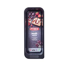 Pyrex MG26BL6 Magic Loaf Tin, Black