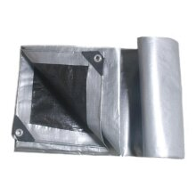 3x3.6m Waterproof Camping Tarp Ground Sheet Outdoor Garden Car Cover with Eyelets