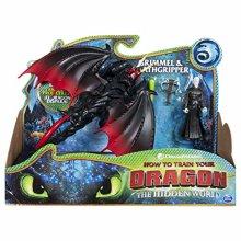 DreamWorks Dragons  Deathgripper and Grimmel, Armored Viking Figure